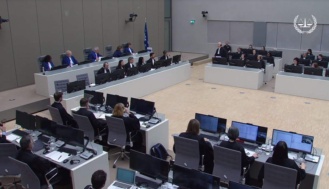 Judges, experts, legal representatives of victims and of the Afghan government meet to argue for and against or to make a decision on whether an investigation should be authorised into alleged war crimes committed in Afghanistan. (Photo: ICC, 2019)